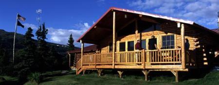 Kulik Main Lodge © Barry & Cathy Beck